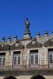 Historical centre of Guimaraes, Minho Region, Northern Portugal. UNESCO World Heritage site. Stock Photography