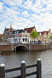 Historical centre of  Haarlem, Holland Stock Photo