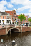 Historical centre of  Haarlem, Netherlands Royalty Free Stock Images