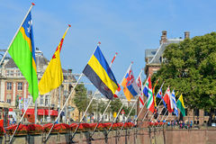Historical centre of Hague Royalty Free Stock Photography