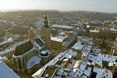 Historical Centre Of City Lviv Stock Images