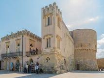 Historical centre of Otranto in Puglia, Italy Royalty Free Stock Photography