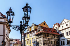 Historical centre of the Prague Stock Photography