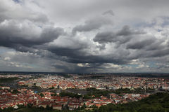 Historical centre of Prague Stock Photography
