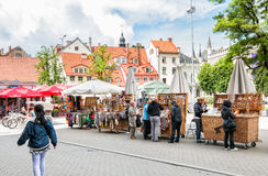 Historical centre of Riga. Latvia Stock Images