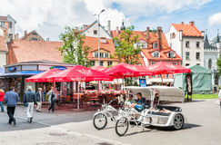 Historical centre of Riga. Latvia Royalty Free Stock Image