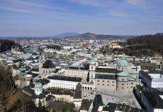 Historical Centre of Salzburg Stock Photos