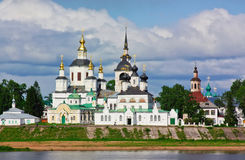 Historical centre of the Veliky Ustyug, Russia Royalty Free Stock Photo
