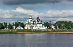 Historical centre of the Veliky Ustyug, Russia Stock Image