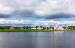 Historical centre of the Veliky Ustyug, Russia Royalty Free Stock Image