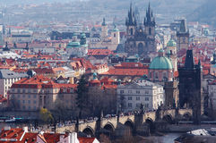 Historical centrum of the Prague Royalty Free Stock Image