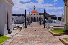 Historical ceremony in Puerto rico royalty free stock images