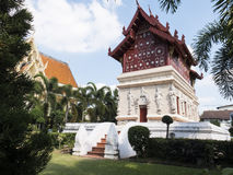 Historical chape in templel in Chiangmai called & x22;Wat Pra-sing& x22; Royalty Free Stock Image