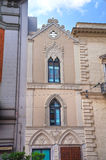 Historical church. Bari. Puglia. Italy. Stock Image