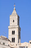 Historical church of Basilicata. Italy. Stock Photography