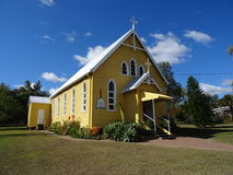 Historical church in Bell, Australia Royalty Free Stock Image