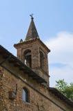 Historical Church. Castell'Arquato. Emilia-Romagna. Italy. Stock Photo