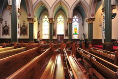Historical church chamber Stock Image