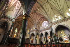 Historical church chamber Royalty Free Stock Photo