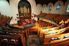 Historical church chamber Stock Photography