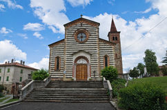 Historical church of Emilia-Romagna. Italy. Royalty Free Stock Photos