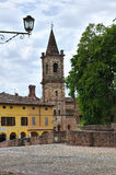 Historical church of Emilia-Romagna. Italy. Royalty Free Stock Photography