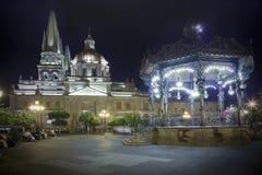 Historical church in Guadalajara Stock Images
