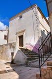 Historical church. Ischitella. Puglia. Italy. Stock Photos