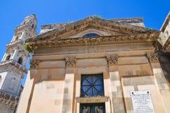 Historical church. Maglie. Puglia. Italy. Stock Photo