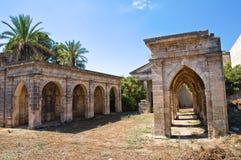 Historical church. Maruggio. Puglia. Italy. Historical church of Maruggio. Puglia. Italy Royalty Free Stock Photography