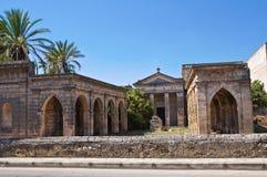 Historical church. Maruggio. Puglia. Italy. Stock Photography