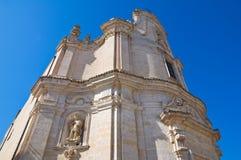Historical church of Matera. Italy. Royalty Free Stock Photography