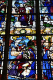 Historical church of Nogent le Roi in Eure et Loir Stock Images