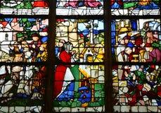 Historical church of Nogent le Roi in Eure et Loir Stock Image