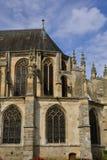 Historical church of Nogent le Roi in Eure et Loir Stock Photos