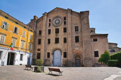 Historical church of Parma.Emilia-Romagna. Italy. Stock Photo