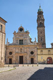 Historical church of Parma. Emilia-Romagna. Italy. Stock Photo