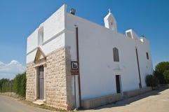 Historical church of Puglia. Italy. Stock Photos