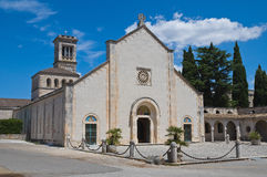 Historical church of Puglia. Italy. Stock Images
