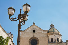 Historical church of Puglia. Italy. Royalty Free Stock Image