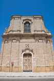Historical church of Puglia. Italy. Royalty Free Stock Images