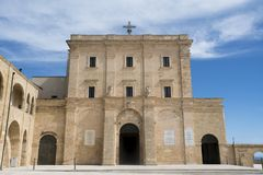 Church of Santa Maria di Leuca -Apulia-Italy royalty free stock images