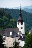 Historical church in Spania Dolina, Slovakia Stock Images