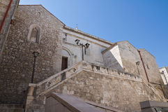 Historical church of Vieste. Stock Photography