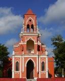 Historical church yucatan mexico Stock Photo