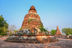 Historical circular pagoda. And clear sky Royalty Free Stock Image