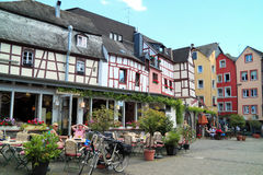 Historical city Bernkastel Kues in Germany Royalty Free Stock Photos