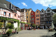 Historical city Bernkastel Kues in Germany Stock Photography