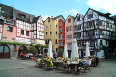 Historical city Bernkastel Kues in Germany Stock Images