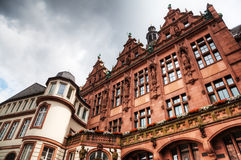 Historical city buildings in Frankfurt Royalty Free Stock Photos